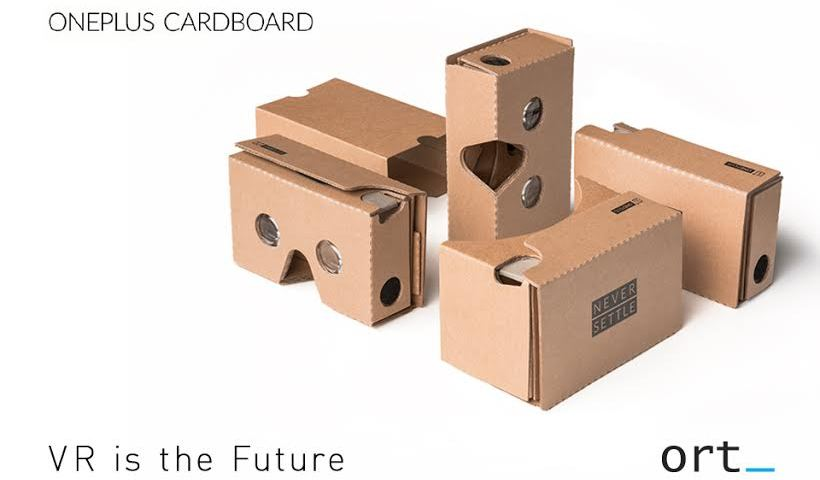 OnePlus VR Cardboard Sold-out!