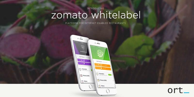 Zomato Whitelabel apps will work on a subscription based model of $200 per month!